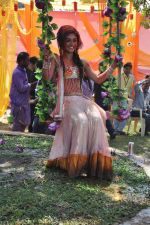 Sreejita De at Colors celebrate Holi in Mumbai on 17th March 2013 (138).JPG