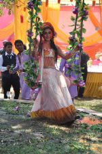 Sreejita De at Colors celebrate Holi in Mumbai on 17th March 2013 (139).JPG