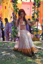 Sreejita De at Colors celebrate Holi in Mumbai on 17th March 2013 (140).JPG