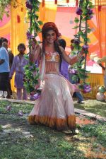 Sreejita De at Colors celebrate Holi in Mumbai on 17th March 2013 (141).JPG