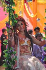 Sreejita De at Colors celebrate Holi in Mumbai on 17th March 2013 (144).JPG