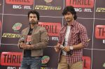 Vidyut Jamwal, Arhaan Behl at the launch of Big RTL Thrill channel in Mumbai on 19th March 2013 (111).JPG
