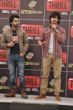 Vidyut Jamwal, Arhaan Behl at the launch of Big RTL Thrill channel in Mumbai on 19th March 2013 (112).JPG