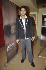 Raaghav Chanana at the Press conference of film Lessons in Forgetting in PVR, Mumbai on 20th March 2013 (5).JPG