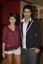 Raaghav Chanana, Maya Tideman at the Press conference of film Lessons in Forgetting in PVR, Mumbai on 20th March 2013 (6).JPG