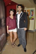 Raaghav Chanana, Maya Tideman at the Press conference of film Lessons in Forgetting in PVR, Mumbai on 20th March 2013 (7).JPG