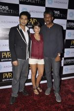 Raaghav Chanana, Maya Tideman, Adil Hussain at the Press conference of film Lessons in Forgetting in PVR, Mumbai on 20th March 2013 (17).JPG