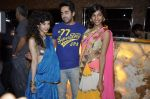 Saba Azad, Anushka Manchanda, Ayushmann Khurrana at Bartender album launch in Sheesha Lounge, Mumbai on 20th March 2013 (83).JPG