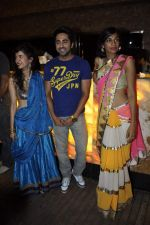 Saba Azad, Anushka Manchanda, Ayushmann Khurrana at Bartender album launch in Sheesha Lounge, Mumbai on 20th March 2013 (81).JPG