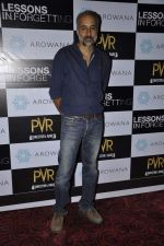 Unni Vijayan at the Press conference of film Lessons in Forgetting in PVR, Mumbai on 20th March 2013 (1).JPG