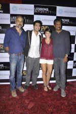 Unni Vijayan, Raaghav Chanana, Maya Tideman, Adil Hussain at the Press conference of film Lessons in Forgetting in PVR, Mumbai on 20th March 2013 (13).JPG