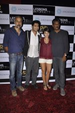 Unni Vijayan, Raaghav Chanana, Maya Tideman, Adil Hussain at the Press conference of film Lessons in Forgetting in PVR, Mumbai on 20th March 2013 (14).JPG