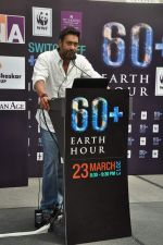 Ajay Devgan at Earth Hour event in Andheri, Mumbai on 22nd March 2013 (18).JPG