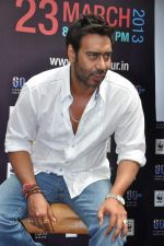 Ajay Devgan at Earth Hour event in Andheri, Mumbai on 22nd March 2013 (39).JPG