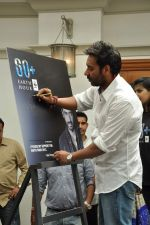 Ajay Devgan at Earth Hour event in Andheri, Mumbai on 22nd March 2013 (23).JPG