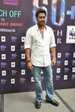 Ajay Devgan at Earth Hour event in Andheri, Mumbai on 22nd March 2013 (28).JPG