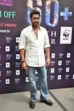 Ajay Devgan at Earth Hour event in Andheri, Mumbai on 22nd March 2013 (29).JPG