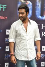 Ajay Devgan at Earth Hour event in Andheri, Mumbai on 22nd March 2013 (31).JPG