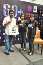 Ajay Devgan at Earth Hour event in Andheri, Mumbai on 22nd March 2013 (33).JPG