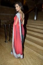 Esha Gupta at Manish Malhotra Show at Lakme Fashion Week 2013 Day 1 in Grand Hyatt, Mumbai on 22nd March 2013 (26).JPG