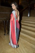 Esha Gupta at Manish Malhotra Show at Lakme Fashion Week 2013 Day 1 in Grand Hyatt, Mumbai on 22nd March 2013 (27).JPG