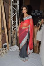 Esha Gupta at Manish Malhotra Show at Lakme Fashion Week 2013 Day 1 in Grand Hyatt, Mumbai on 22nd March 2013 (53).JPG