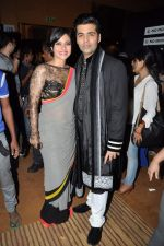 Kajol, Karan Johar at Manish Malhotra Show at Lakme Fashion Week 2013 Day 1 in Grand Hyatt, Mumbai on 22nd March 2013 (46).JPG