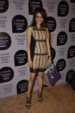 Madhoo Shah on Day 1 at Lakme Fashion Week 2013 in Grand Hyatt, Mumbai on 22nd March 2013 (43).JPG