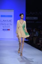 Model walk the ramp for Debarun Show at Lakme Fashion Week 2013 Day 1 in Grand Hyatt, Mumbai on 22nd March 2013 (4).JPG