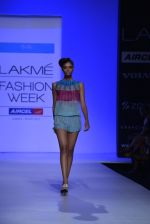 Model walk the ramp for Debarun Show at Lakme Fashion Week 2013 Day 1 in Grand Hyatt, Mumbai on 22nd March 2013 (78).JPG