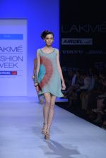 Model walk the ramp for Debarun Show at Lakme Fashion Week 2013 Day 1 in Grand Hyatt, Mumbai on 22nd March 2013 (87).JPG