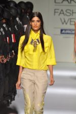 Model walk the ramp for Narendra Kumar Show at Lakme Fashion Week 2013 in Grand Hyatt, Mumbai on 22nd March 2013 (3).JPG