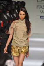Model walk the ramp for Narendra Kumar Show at Lakme Fashion Week 2013 in Grand Hyatt, Mumbai on 22nd March 2013 (5).JPG