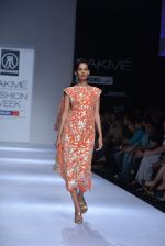 Model walk the ramp for Rehane Show at Lakme Fashion Week 2013 Day 1 in Grand Hyatt, Mumbai on 22nd March 2013 (10).JPG