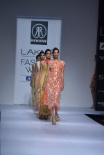 Model walk the ramp for Rehane Show at Lakme Fashion Week 2013 Day 1 in Grand Hyatt, Mumbai on 22nd March 2013 (13).JPG