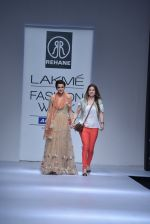 Model walk the ramp for Rehane Show at Lakme Fashion Week 2013 Day 1 in Grand Hyatt, Mumbai on 22nd March 2013 (17).JPG