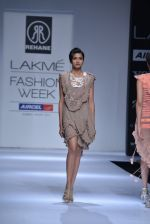 Model walk the ramp for Rehane Show at Lakme Fashion Week 2013 Day 1 in Grand Hyatt, Mumbai on 22nd March 2013 (31).JPG