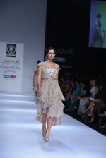 Model walk the ramp for Rehane Show at Lakme Fashion Week 2013 Day 1 in Grand Hyatt, Mumbai on 22nd March 2013 (37).JPG