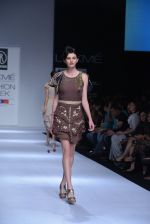Model walk the ramp for Rehane Show at Lakme Fashion Week 2013 Day 1 in Grand Hyatt, Mumbai on 22nd March 2013 (42).JPG