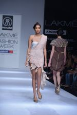 Model walk the ramp for Rehane Show at Lakme Fashion Week 2013 Day 1 in Grand Hyatt, Mumbai on 22nd March 2013 (45).JPG