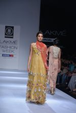 Model walk the ramp for Rehane Show at Lakme Fashion Week 2013 Day 1 in Grand Hyatt, Mumbai on 22nd March 2013 (5).JPG