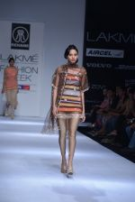 Model walk the ramp for Rehane Show at Lakme Fashion Week 2013 Day 1 in Grand Hyatt, Mumbai on 22nd March 2013 (56).JPG