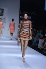 Model walk the ramp for Rehane Show at Lakme Fashion Week 2013 Day 1 in Grand Hyatt, Mumbai on 22nd March 2013 (57).JPG