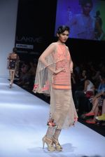Model walk the ramp for Rehane Show at Lakme Fashion Week 2013 Day 1 in Grand Hyatt, Mumbai on 22nd March 2013 (64).JPG