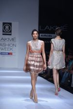 Model walk the ramp for Rehane Show at Lakme Fashion Week 2013 Day 1 in Grand Hyatt, Mumbai on 22nd March 2013 (70).JPG