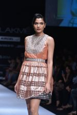 Model walk the ramp for Rehane Show at Lakme Fashion Week 2013 Day 1 in Grand Hyatt, Mumbai on 22nd March 2013 (74).JPG