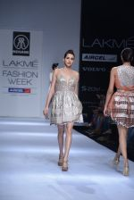 Model walk the ramp for Rehane Show at Lakme Fashion Week 2013 Day 1 in Grand Hyatt, Mumbai on 22nd March 2013 (76).JPG