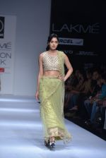 Model walk the ramp for Rehane Show at Lakme Fashion Week 2013 Day 1 in Grand Hyatt, Mumbai on 22nd March 2013 (89).JPG