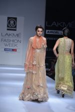 Model walk the ramp for Rehane Show at Lakme Fashion Week 2013 Day 1 in Grand Hyatt, Mumbai on 22nd March 2013 (95).JPG