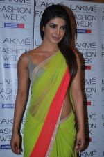 Priyanka Chopra at Manish Malhotra Show at Lakme Fashion Week 2013 Day 1 in Grand Hyatt, Mumbai on 22nd March 2013 (127).JPG